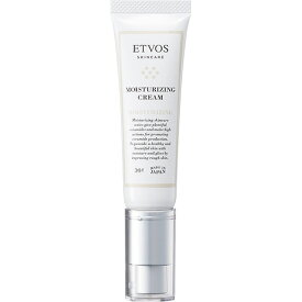 エトヴォス(ETVOS)公式ショップ 【保湿ケア】5種のヒト型セラミド&ビタミン配合のリッチな使用感の保湿クリーム「モイスチャライジングクリーム30g」【etvos】【30日間返品保証】