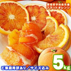 愛媛県宇和島産「ブラッドオレンジ(タロッコ)」訳あり5kg【送料無料※北海道・沖縄県は除く】濃厚なお味の希少な純国産!柑橘のふるさと吉田町から完熟高糖度オレンジをお届けします