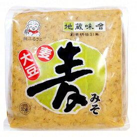 【 地蔵味噌 麦 みそ 2kg 袋 入り 】 味噌 みそ 甘口 米糀 麦麹 麹 裸麦 麦 地蔵 味噌 愛媛 2kg 大容量 調味料 豆 ごはん ご飯 みそ汁 味噌汁 合う 2キロ