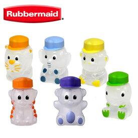 『Rubbermaid ラバーメイド アニマルジュースボックス 全6種類』〔ストロー付きの可愛い水筒〕