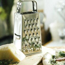 『クチーナ 4面チーズグレーター』【グレーター チーズ おろし おろし器 調理小物】