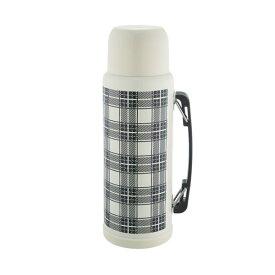 『エジンバラ2 サーモスボトル 1200 クリーム』【真空断熱 保温 保冷 サーモス ボトル ステンレス 水筒 チェック】