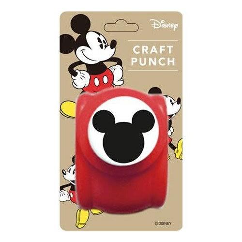 『ディズニー パンチ ミッキーM』<クラフトパンチ>【Disney ミッキー 文房具 型抜き デコレーション アルバム作り】