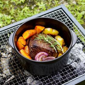 『セラミックス ダッチオーブン S (PN00050aa)』【トーセラム セラミック 鍋 耐熱 燻製 燻製料理 便利 調理鍋】
