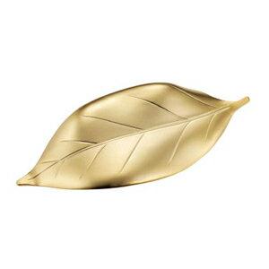 『葉っぱ箸置き ツヤ消しゴールド』【クーポン対象商品】【メール便 (ゆうパケット) 対応】