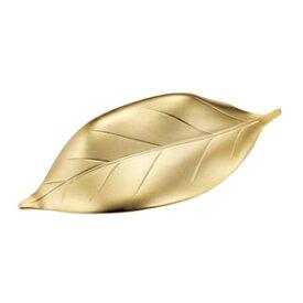 『葉っぱ箸置き ツヤ消しゴールド』【メール便対応】