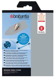 『ブラバンシア アイロン台 スペアカバー 135×45cm用 (シリコン加工)』※brabantia【メール便対応】