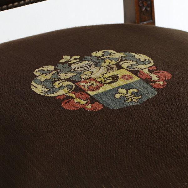 【アンティーク】【アンティーク家具】【アンティークチェア】アームチェアチェアいす肘掛けベルギーリアルアンティーク本物天然木大きめサイズ書斎リビングショップインテリアディスプレイアンティークアームチェアArmChair32609