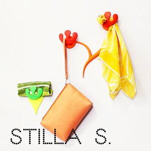STILLASINGLEスティラシングルかわいい壁掛けおしゃれフック便利ホルダー粘着画鋲イタリア製POSDESIGN小物南欧収納雑貨ネックレスバスフックホルダー軽量耐久性機能性ポスデザインアクセサリーフックYOUは何しにショッピング