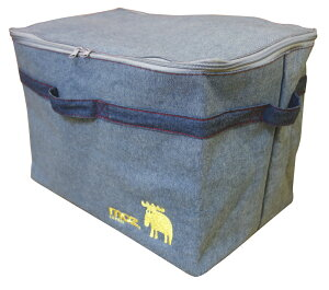 【当店商品2点以上購入で送料無料】MOZ ランドリーバッグ コインランドリー用 バック スクエアふた付 洗濯物入れ 1015863