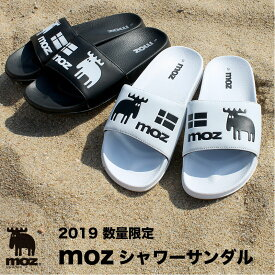 moz シャワーサンダル【2019新商品】 サンダル ホワイト ブラック おしゃれ