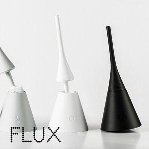 FLUXフルックスかわいいおしゃれトイレブラシセット収納デザイン100%イタリア製POSDESIGN【ポイント10倍】トイレブラシ掃除使いやすいオシャレ自立容器軽量耐久性機能性