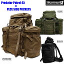 【正規輸入代理店直売】karrimorSF Predator45 + PLCE side pockets (pair) ・ カリマー SF プレデター パトロール 45 +PLCE サイドポケット(ペ