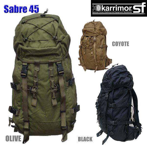 【正規輸入代理店直売】karrimor SF Sabre 45 ・ カリマー SF セイバー 45【送料無料】ミリタリー バックパック リュックサック
