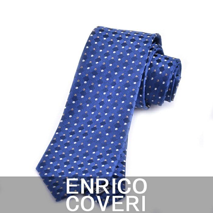 エンリコ コベリー ネクタイ ENRICO COVERI ブルー 2L42058 2 キャンセル不可 日時指定不可 ラッピング不可 同梱不可