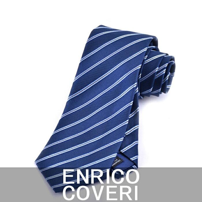 エンリコ コベリー ネクタイ ENRICO COVERI ブルー 2R42073 1 キャンセル不可 日時指定不可 ラッピング不可 同梱不可