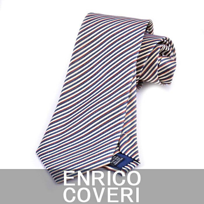 エンリコ コベリー ネクタイ ENRICO COVERI イエロー 2R42074 6【送料無料】 父の日 プレゼント