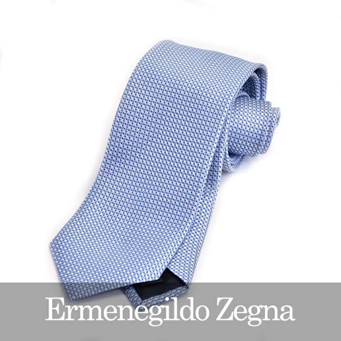 ERMENEGILDO ZEGNA エルメネジルドゼニア ネクタイ ブルー Z9D80 1L8 B