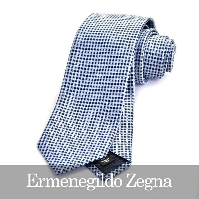 ERMENEGILDO ZEGNA エルメネジルドゼニア ネクタイ ブルー Z9D05 1L8 B 【送料無料】