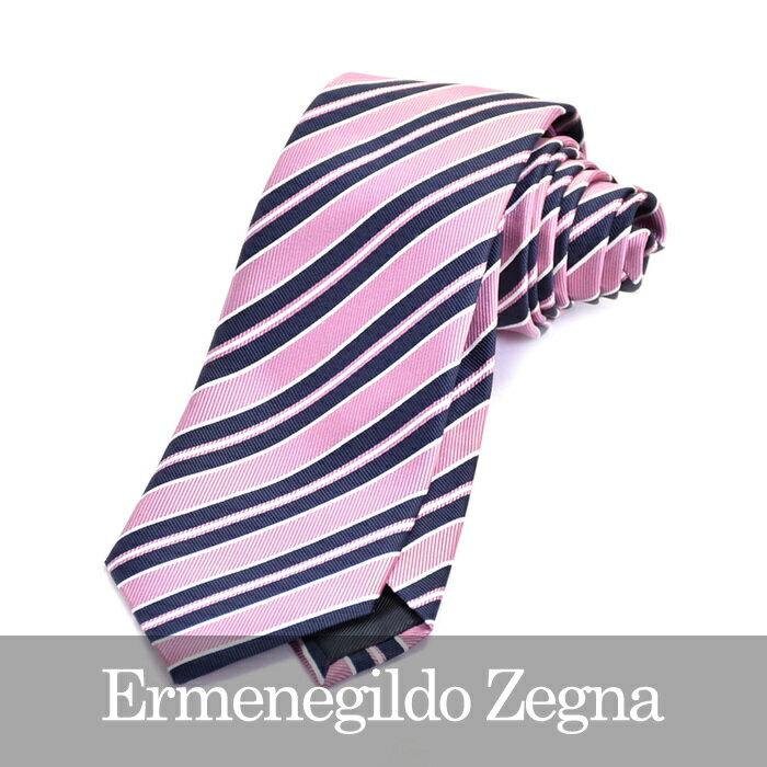 ERMENEGILDO ZEGNA エルメネジルドゼニア ネクタイ ピンク Z9D07 1L8 C 【送料無料】
