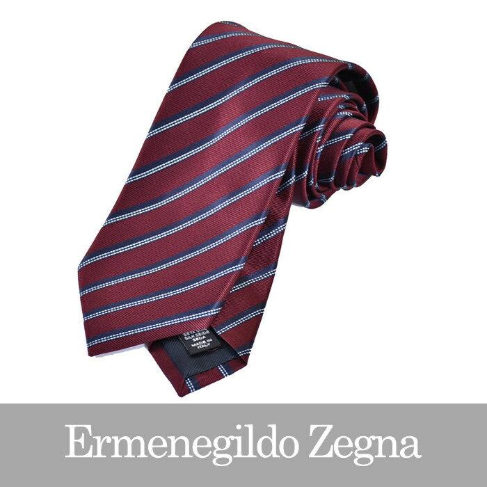 エルメネジルドゼニア ネクタイ ERMENEGILDO ZEGNA レッド Z2D12 1L8 E 【送料無料】【メンズ】