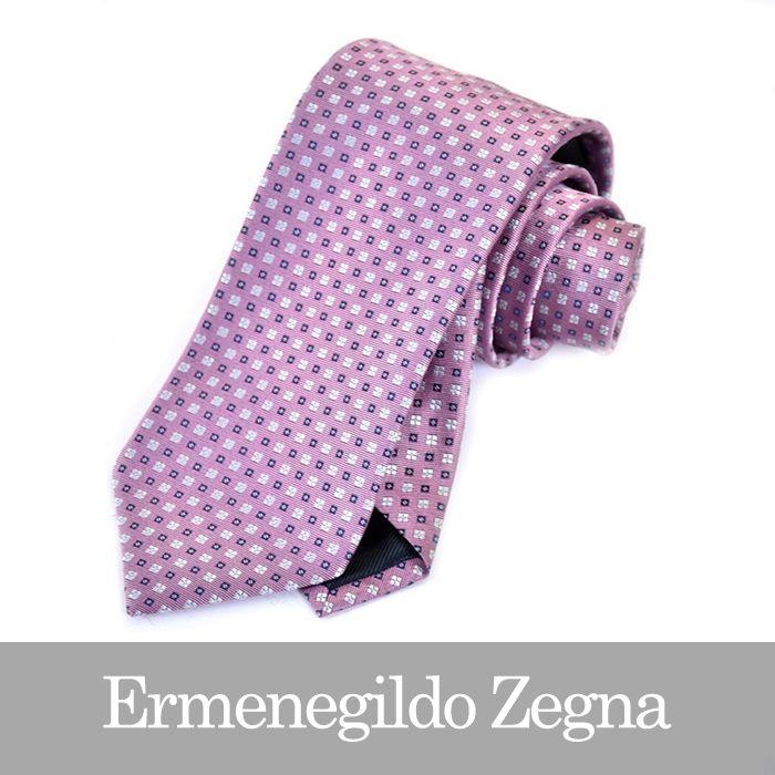 ERMENEGILDO ZEGNA エルメネジルドゼニア ネクタイ ピンク Z2D13 1L8 D