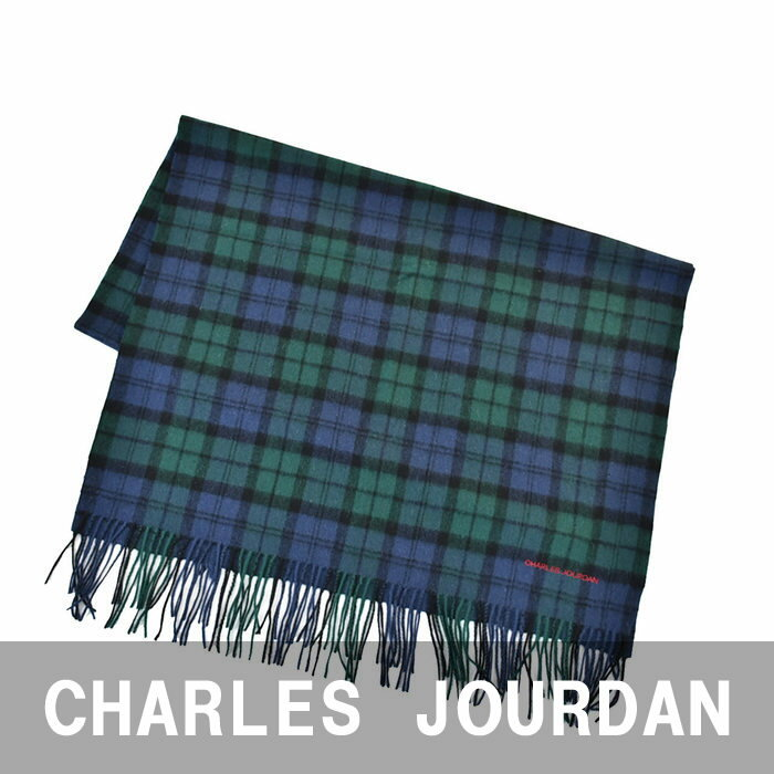 CHARLES JOURDAN シャルル ジョルダン マフラー グリーン 06 43019A 6