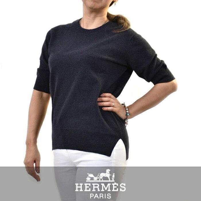 エルメス セーター HERMES ブルー 382618D 【送料無料】