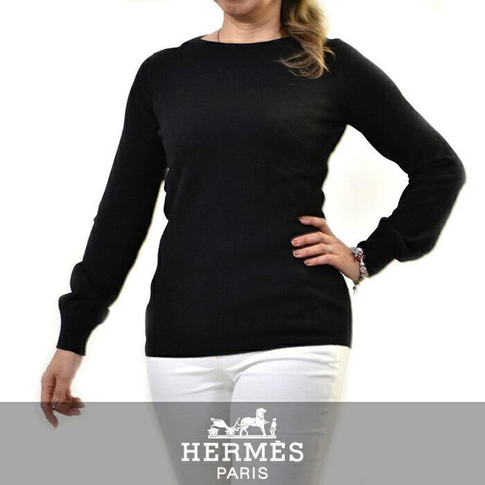 エルメス セーター HERMES ブラック 692624D9 【送料無料】【ラスト1点】【レディース】