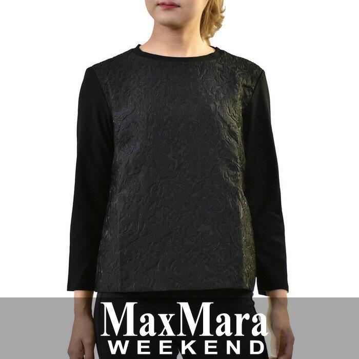 【期間限定ポイント10倍 16日12時迄】 マックスマーラ ウィークエンド Tシャツ MAXMARA WEEKEND ブラック MANNA 59460673 【送料無料】【クールビズ】