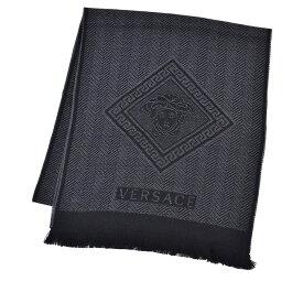 VERSACE ヴェルサーチ マフラー ブラック SC36WOP0641 0007 ギフト プレゼント