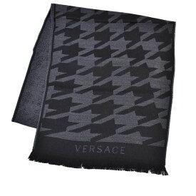 ヴェルサーチ マフラー VERSACE ブラック SC36WOP0643 0001 【キャッシュレス還元5%+ポイント10倍】