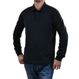エルメネジルドゼニア ポロシャツ ERMENEGILDO ZEGNA ブラック MAGLIA VN345 ZZ717 99 メンズ【Final Price】 ギフト プレゼント