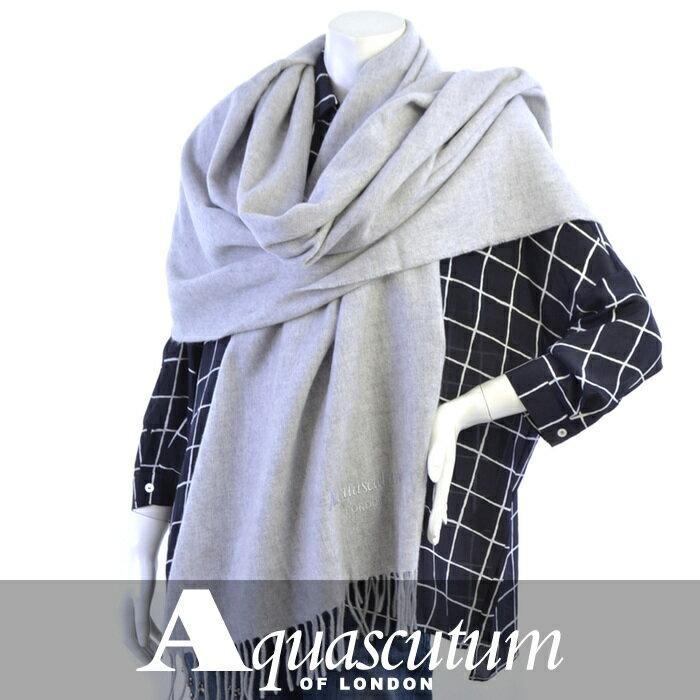 アクアスキュータム ストール AQUASCUTUM グレー ASTOR/2 1 Peria 【送料無料】【レディース】