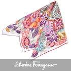 フェラガモ シルク スカーフ FERRAGAMO 31-6989-08 ピンク 【送料無料】