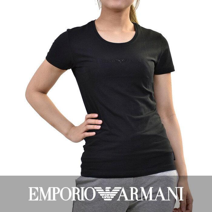 エンポリオアルマーニ ストレッチTシャツ EMPORIO ARMANI 163139 4A263 00020 ブラック
