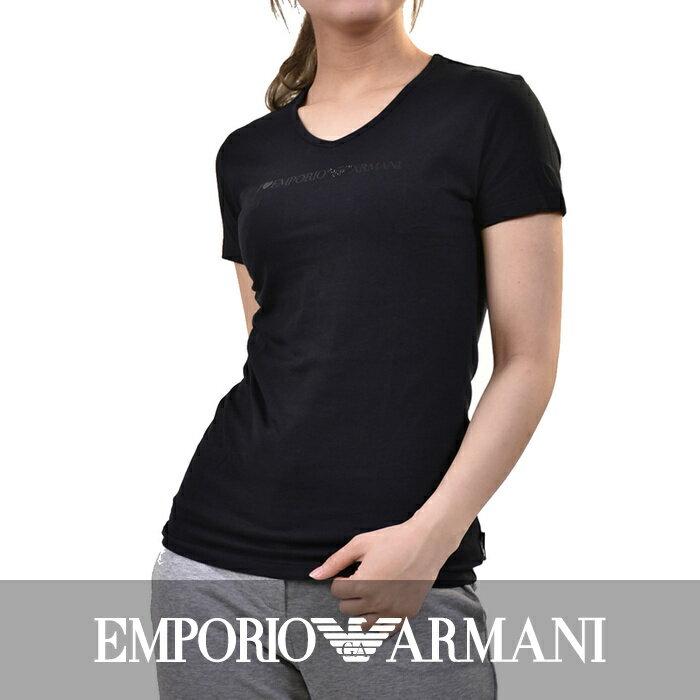 【66%OFF】 エンポリオアルマーニ ストレッチTシャツ EMPORIO ARMANI 163140 4A226 00020 ブラック SALE 【送料無料】【ラッピング無料】【半額以下】
