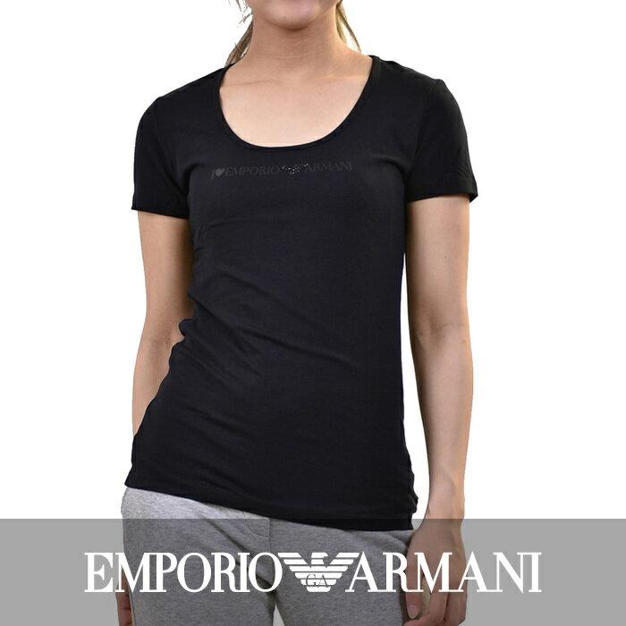 エンポリオアルマーニ ストレッチTシャツ EMPORIO ARMANI 163377 4A226 00020 ブラック