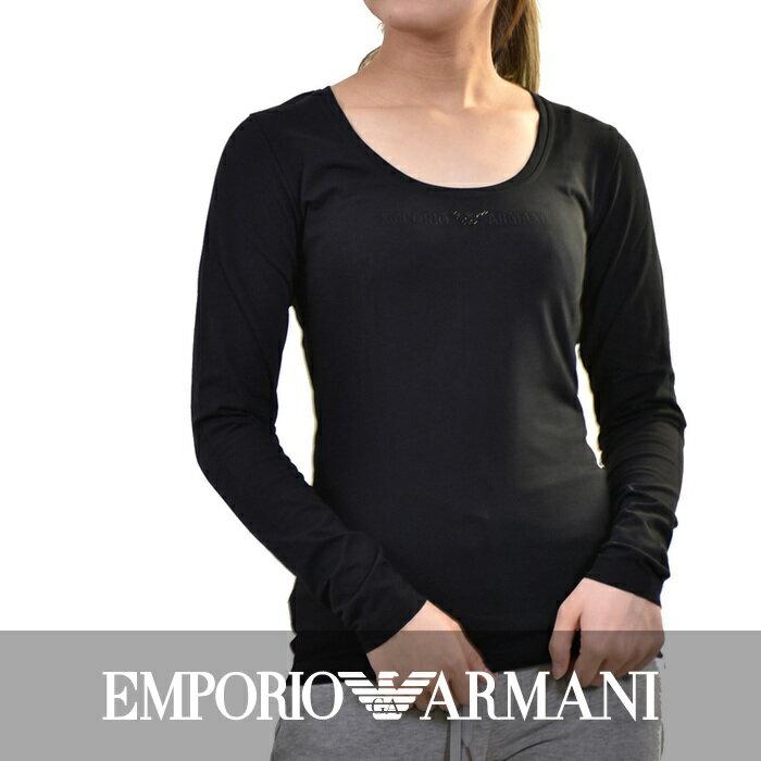 エンポリオアルマーニ ストレッチTシャツ EMPORIO ARMANI 163378 4A263 00020 ブラック