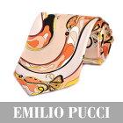 エミリオプッチ ネクタイ EMILIO PUCCI P 8020 7 【メンズ】 【バレンタイン ギフト】【ラッピング】【プレゼント】