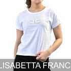 エリザベッタ フランキ Tシャツ ELISABETTA FRANCHI MA04181E2 ホワイト