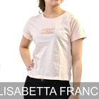 エリザベッタ フランキ Tシャツ ELISABETTA FRANCHI MA04181E2 ピンク