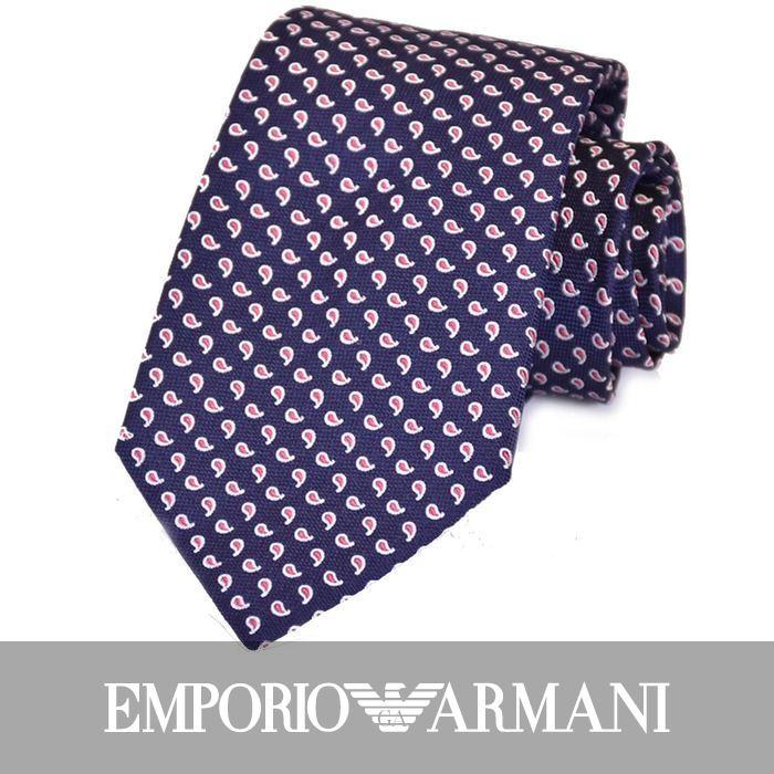 エンポリオアルマーニ ネクタイ EMPORIO ARMANI 8A321 00035 ネイビー 【メンズ】 【バレンタイン ギフト】【ラッピング】【プレゼント】