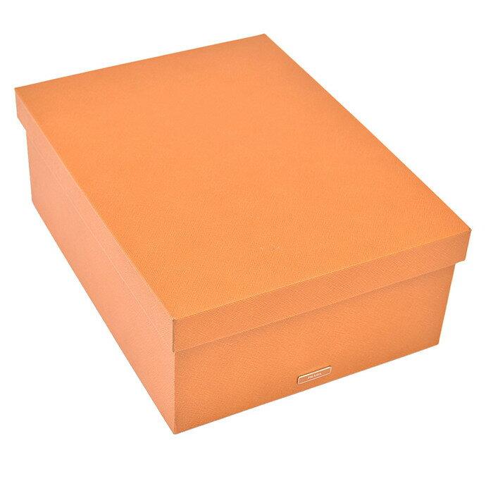 激レア プラダ PRADA ボックス 小物入れ箱 2AR312 AMBRAキャメル ラスト1点