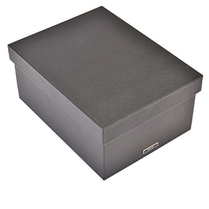激レア プラダ PRADA ボックス 箱 2AR313 NEROブラック ラスト1点
