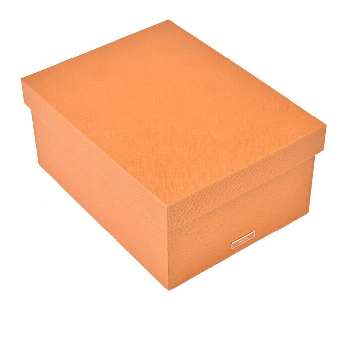 激レア プラダ PRADA ボックス小物入れ 箱 2AR313 AMBRAキャメル ラスト1点