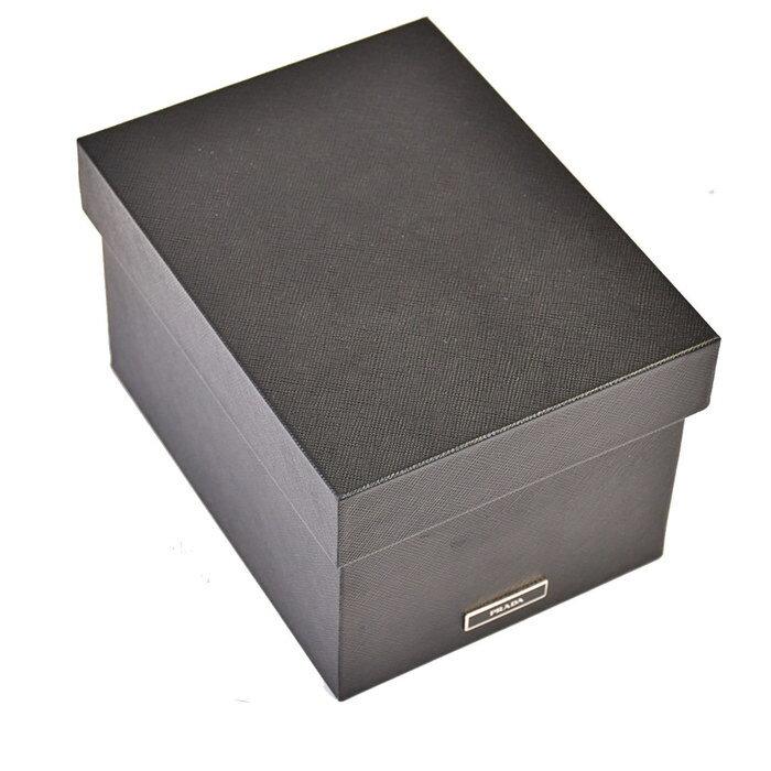 激レア プラダ PRADA ボックス 小物入れ 箱 2AR314 NEROブラック