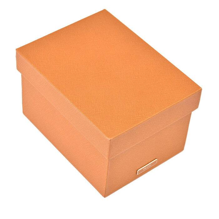 激レア プラダ PRADA ボックス 小物入れ箱 2AR314 AMBRAキャメル ラスト1点
