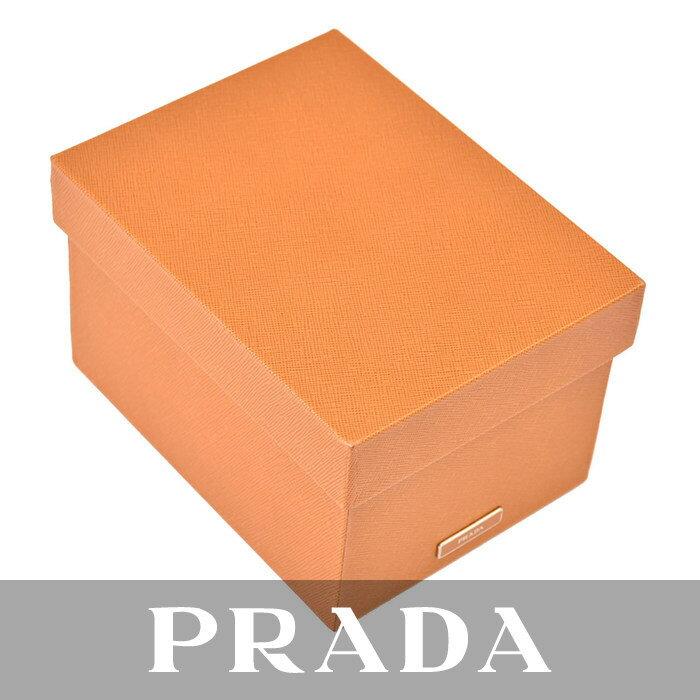 激レア プラダ PRADA ボックス 小物入れ箱 2AR314 AMBRAキャメル