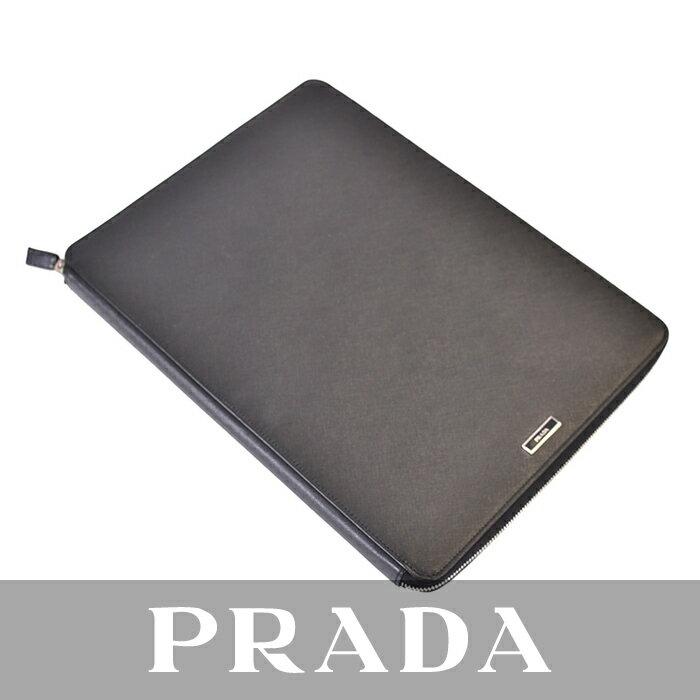激レア プラダ PRADA ビジネスケース バッグインバッグ OGGETTI DA SCRIVANIA 2AR456 NERO